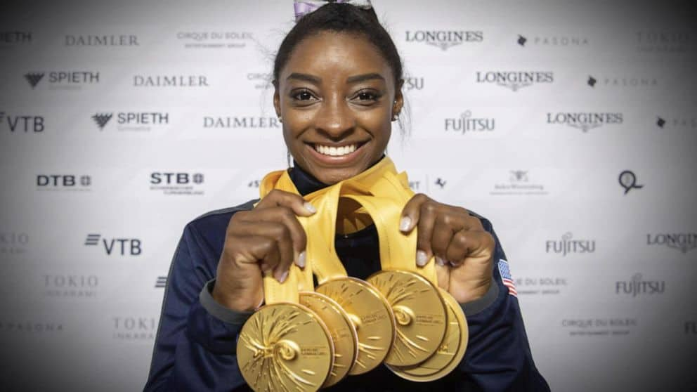 The amount Money has Simone Biles Earned as a Gymnast?