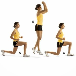 SPLIT JUMPING EXERCISES