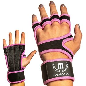 Mava Sports Leather Hand Grips