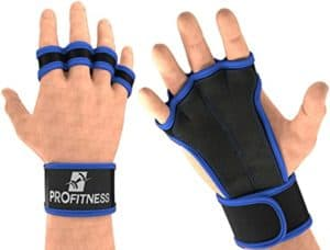 ProFitness Leather Cross Training Grips