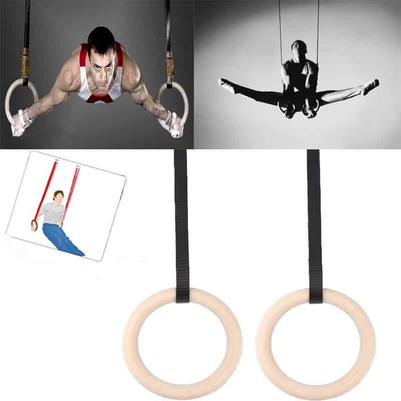 Yoga Body Wood Gymnastics Rings