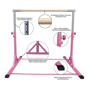 Z ATHLETIC Expandable Bar (with mat included)