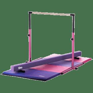 Nimble Sports Purple Junior Adjustable Horizontal Bar