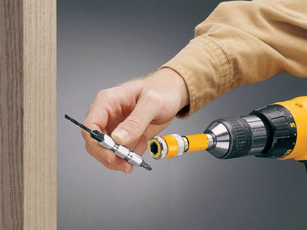 cordless drill holes