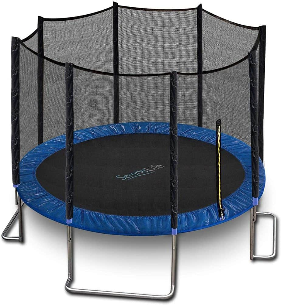 SereneLife Trampoline with Enclosure