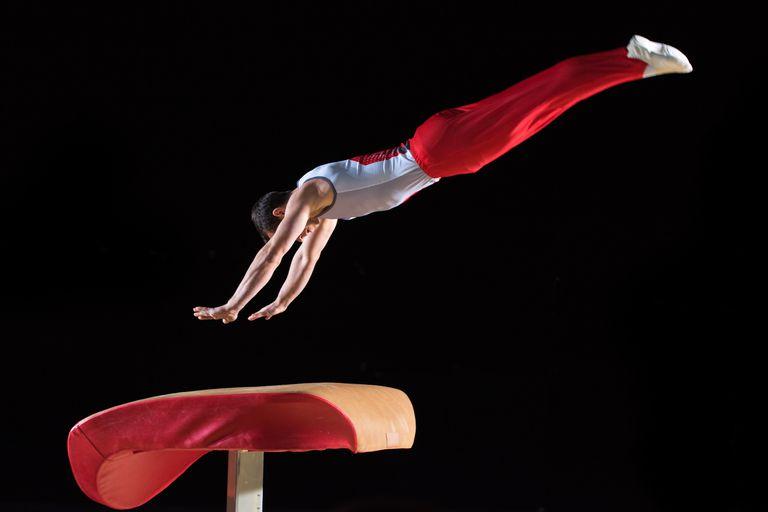 the vault gymnastics