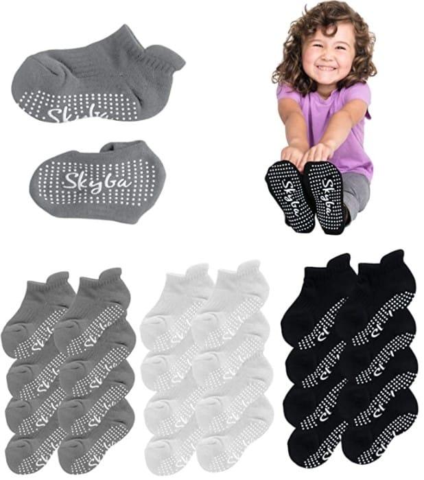 Skyba Toddler Trampoline Jump Socks