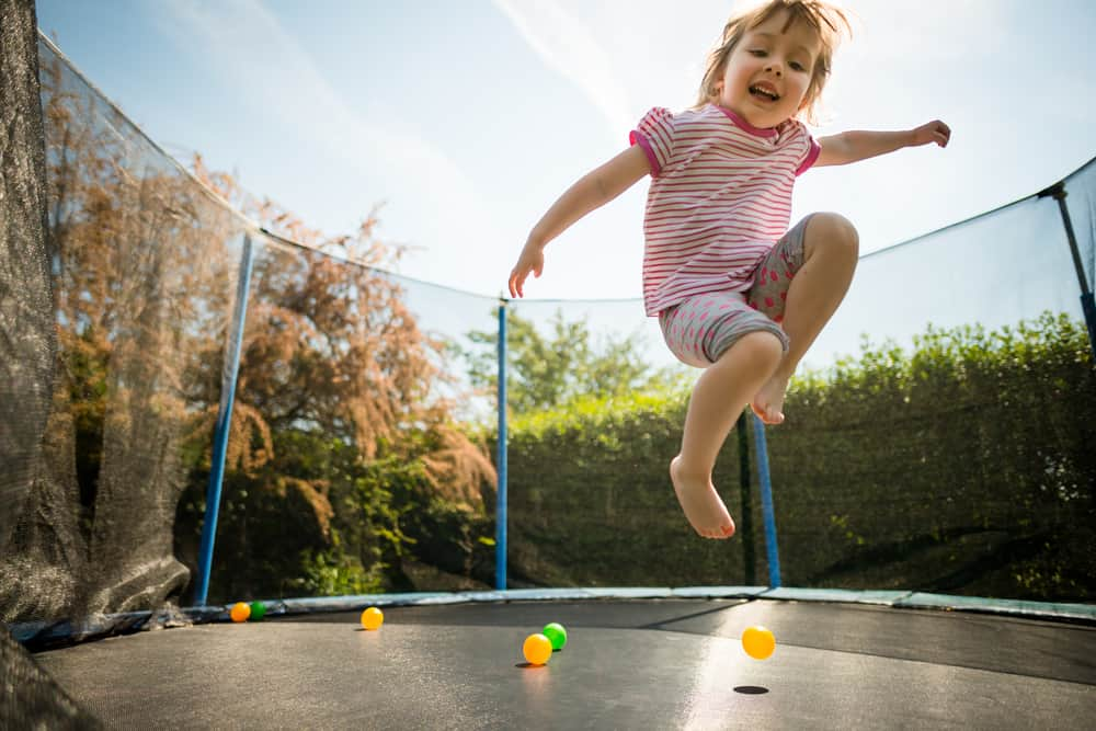 Benefits of Trampolining for Toddlers
